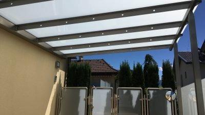 Glasdächer, -böden, Geländerverglasungen